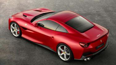 Ferrari Portofino - above