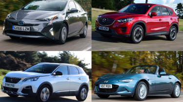 Best cars for comfort, tech, safety, economy and more - header