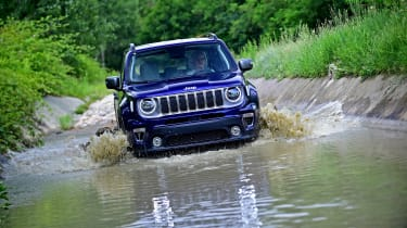 Jeep Renegade - off-road