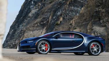 Bugatti Chiron - The Quail front quarter 2