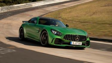 Mercedes-AMG GT R - side/front