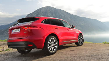 Jaguar F-Pace first drive - rear quarter
