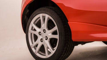 Used Mazda 2 - wheel