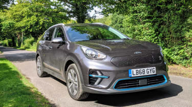 Kia e-Niro long termer - front tracking