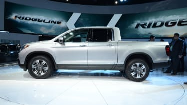 Honda Ridgeline pickup - show profile