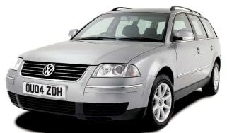 Front view of Volkswagen Passat