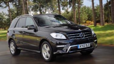 Mercedes ML front action