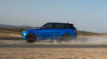 Range Rover Sport SVR - side