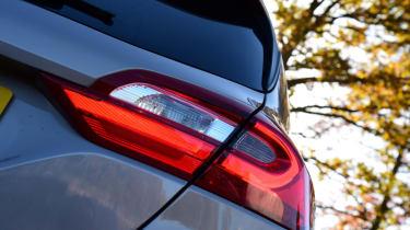 Ford Fiesta Vignale rear light