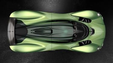 Aston Martin Valkyrie Mantis - above