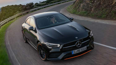 Mercedes CLA - front above