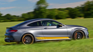 Mercedes-AMG C 63 S Coupe Edition 1 - side tracking