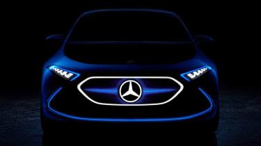 Mercedes EQ teaser frankfurt
