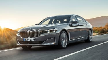 BMW 7 Series facelift - front tracking