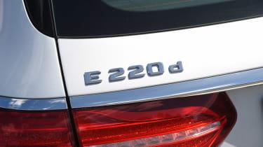 Mercedes E-Class Estate - E 220 d badge