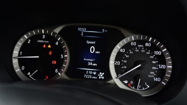 Nissan Navara - speedo