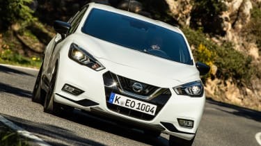 Nissan Micra N-Sport - front action