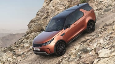 Land Rover Discovery 2017 - first edition front