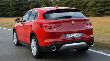 Alfa Romeo Stelvio - rear