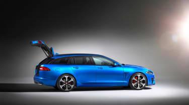 Jaguar XFR-S Sportbrake boot
