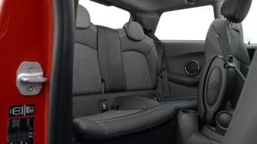 MINI Cooper D 2014 rear seats