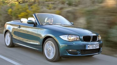 BMW 1 Series Convertible front