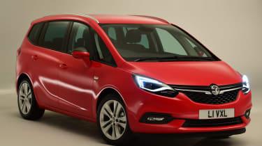 Vauxhall Zafira Tourer - studio front