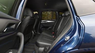 BMW X3 - back seats