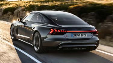 Audi RS e-tron GT - rear action