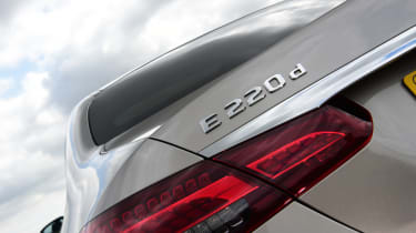 Mercedes E-Class - rear light
