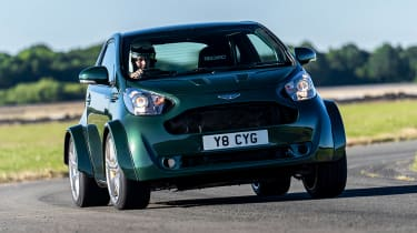 Aston Martin V8 Cygnet - front action
