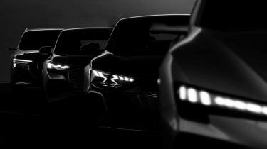 Audi electric car concept - teaser