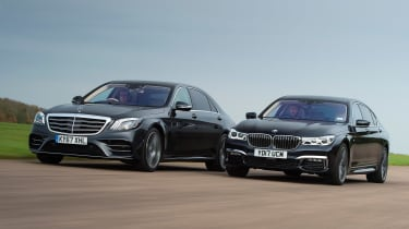 Mercedes S-Class vs BMW 7 Series - header