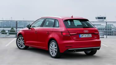 Audi A3 Sportback - rear static