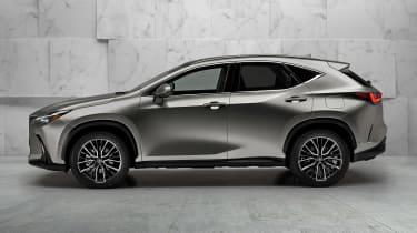Lexus NX - silver side