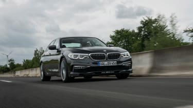 BMW Alpina D5 S - front tracking