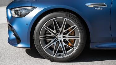 Mercedes-AMG GT 4-Door 2021 facelift blue - wheel