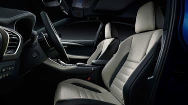 Lexus NX facelift 2017 cabin
