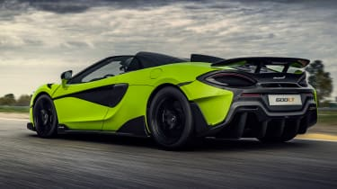 McLaren 600LT Spider - rear track