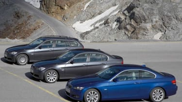 BMW 3-series line-up