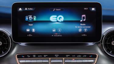 Mercedes EQV - infotainment