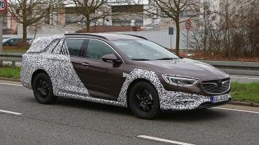 Vauxhall Insignia Country Tourer spy shot