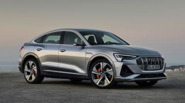 Audi e-tron Sportback - front static