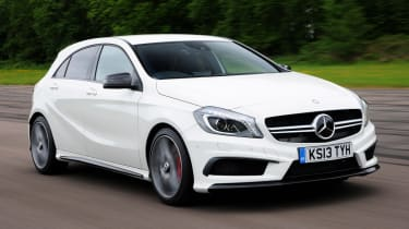 Mercedes A45 AMG front