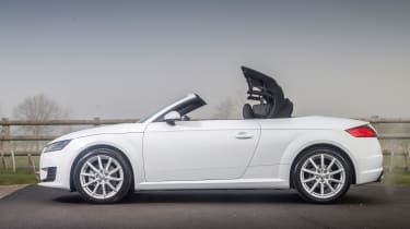 Audi TT Roadster 180 2016 - roof closing