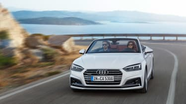 New Audi A5 Cabriolet 2017 driving