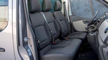 Nissan NV300 van front seats