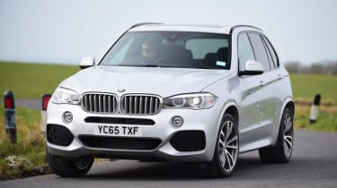 Used BMW X5 - front cornering