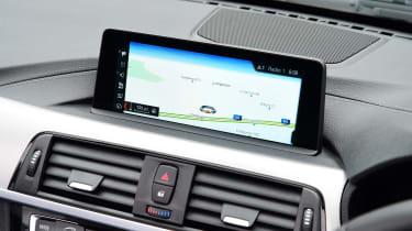BMW 430i Convertible - sat-nav