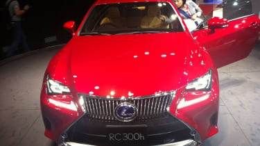 Lexus RC coupe Tokyo 2013 front